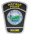 Dixfield Police Patch