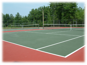 TW Kelley Middle School Tennis Courts