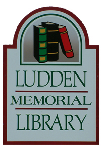 ludden library plaque